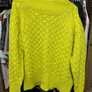 Neon French Connection Turtle Neck Sweater